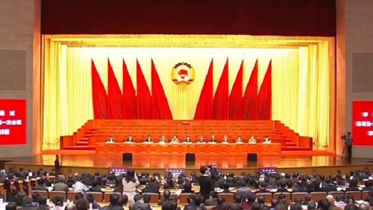 省政协十二届一次会议预备会议举行