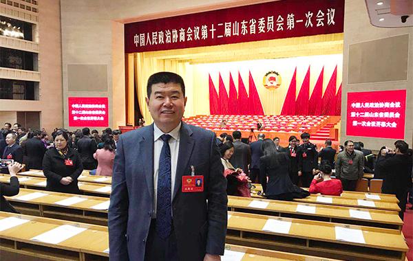 省政协委员王培亮:加强品牌建设 让山东农产品走向全国