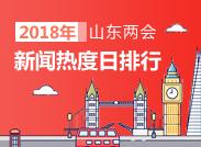 """2018山东两会新闻热度TOP榜第三期:""""三环四横六纵""""高铁网热度最高"""