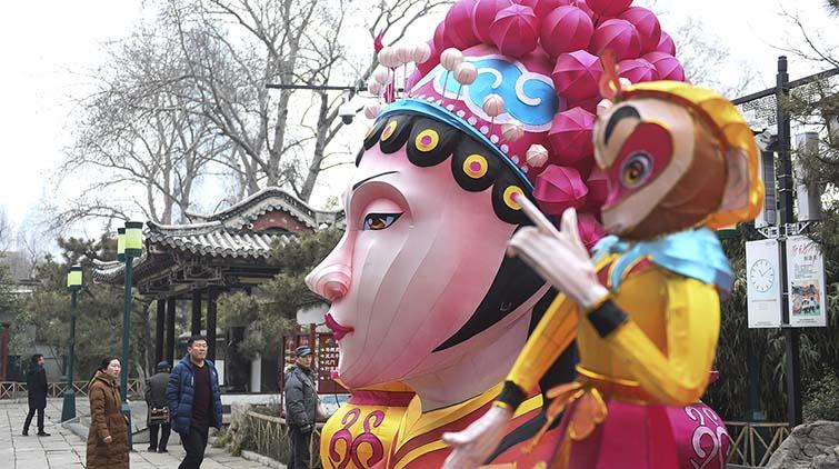 牛!济南趵突泉花灯会用上黑科技,这设备自动捕捉游客表情