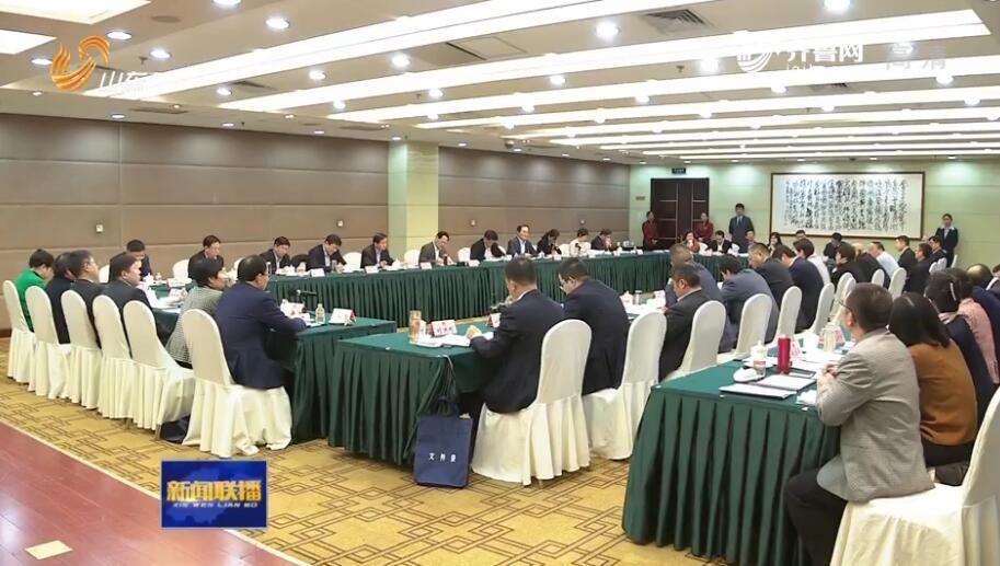 付志方参加政协工商联界小组讨论