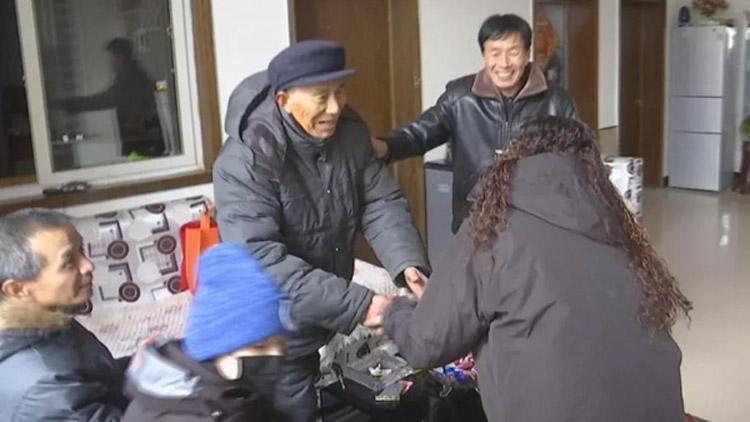 10分钟讲述台湾老兵后人回菏泽探亲 血浓于水!
