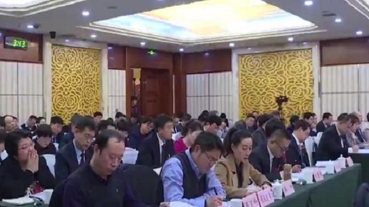 省里老同志审议政府工作报告