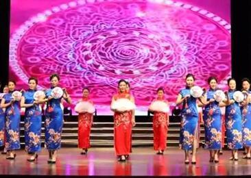菏泽国之韵旗袍会走进梅兰芳大剧院展现菏泽女性风采