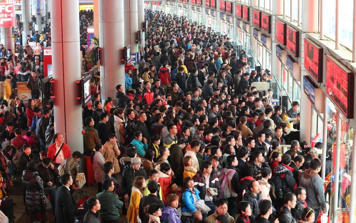 春运首日临沂火车站发送旅客7766人 北京、东北方向卧铺紧张