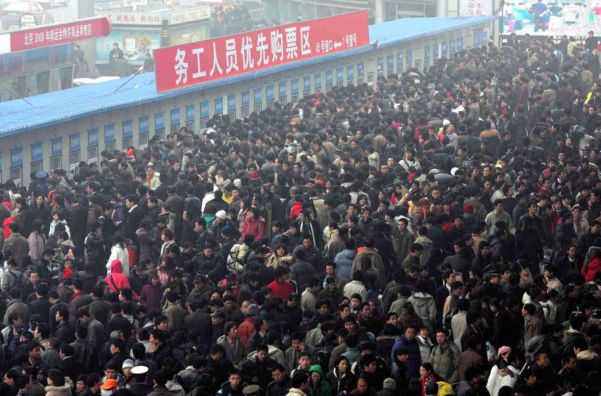 5日临沂火车站日发送旅客6400人 北京方向卧铺紧张