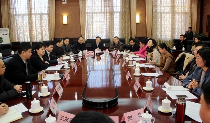 聊城为出席省文代会作代会16名代表举行欢送会