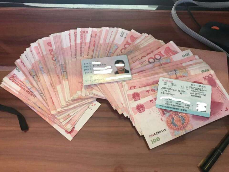 春运客流增大 淄博火车站每天收到旅客遗失物品20余件
