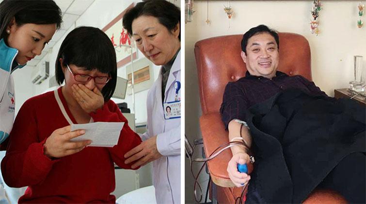 捐献造血干细胞救人,山东这俩人的做法不含糊