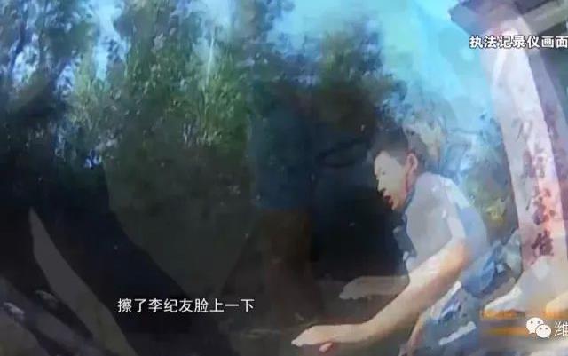 齐鲁最美警察丨抓捕中被镰刀砍中左脸,李纪友制服嫌犯后晕倒