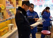 春节前夕泰安民警开展加油站大检查 确保安全零事故