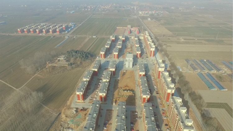 32秒|黄河滩区村民搬进新居,楼上过新年,新社区长这样!