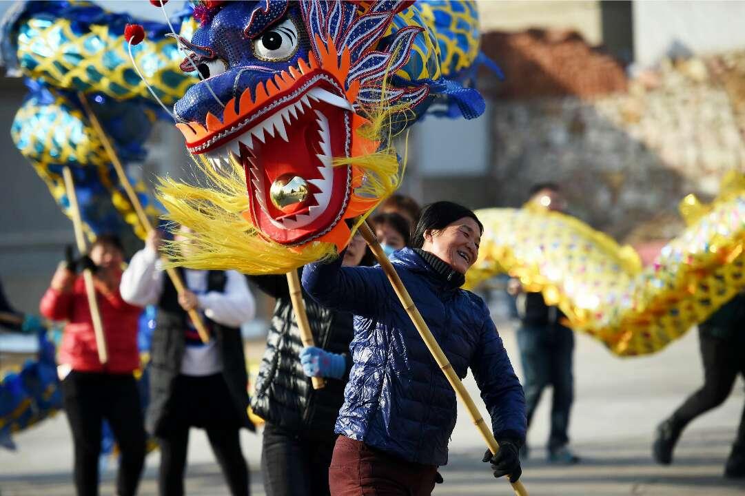 镜头下山东唯一海岛县别样中国年 特色民俗个个超赞