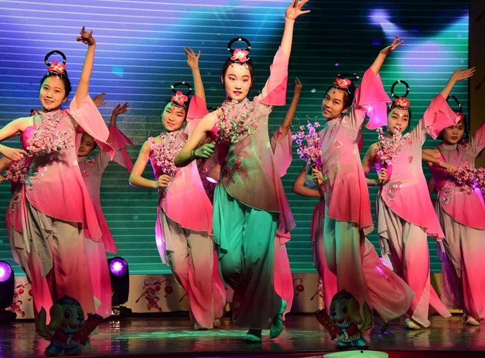 歌舞戏曲齐上阵 茌平县举办文艺晚会庆新年