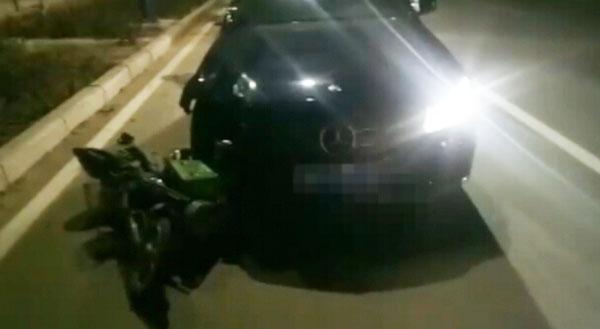 惊险55秒丨德州平原一车辆肇事逃逸 警民联手追堵拦停