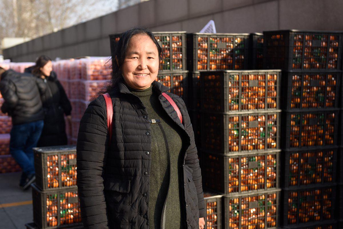 重庆脐橙济南一天卖出800箱 期待你的爱心接力