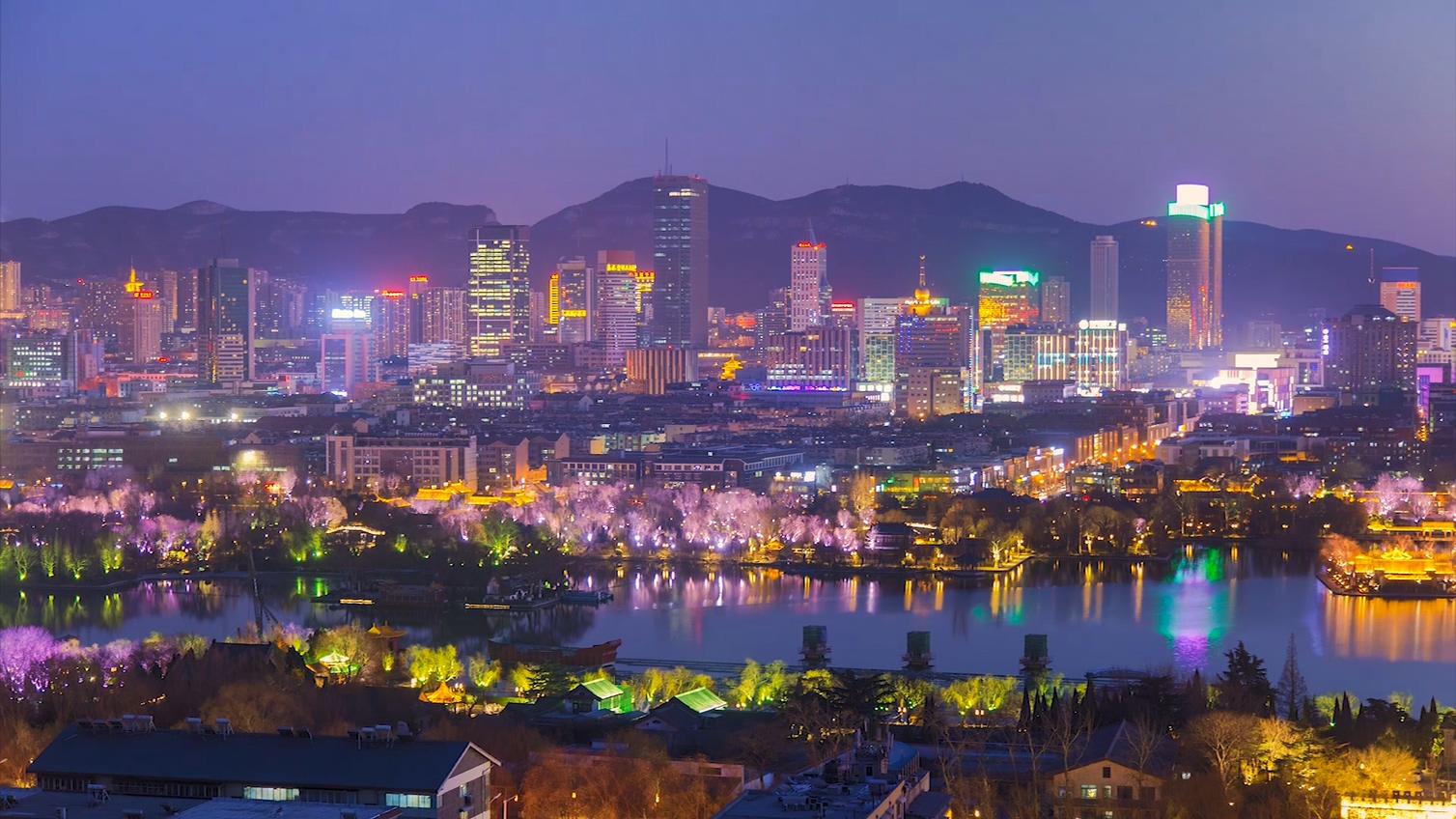 飞吧山东丨3分钟带你回看2017年泉城四季的光与影