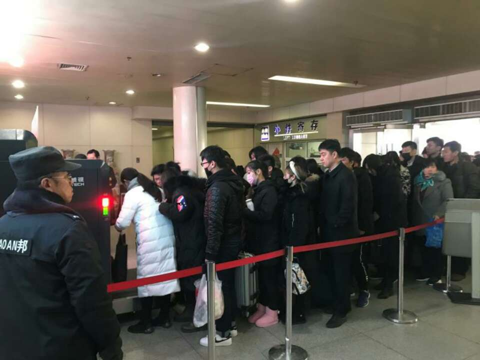 济南长途汽车总站迎返程客流高峰 下个高峰正月十六出现