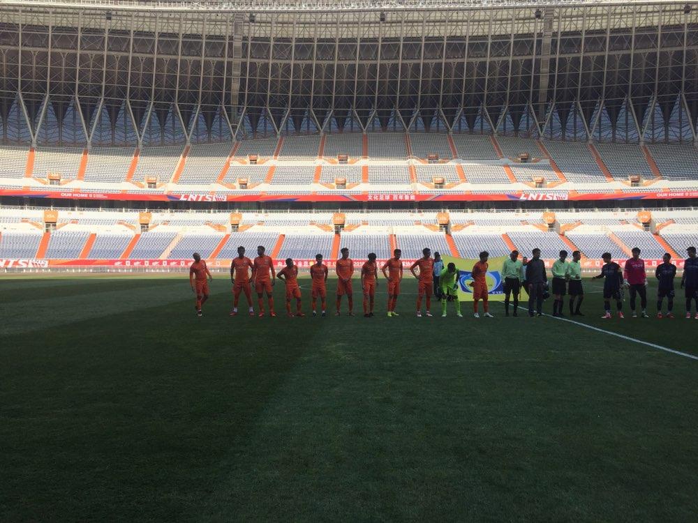 鲁能半场1-1仁川联  U23球员姚均晟破门