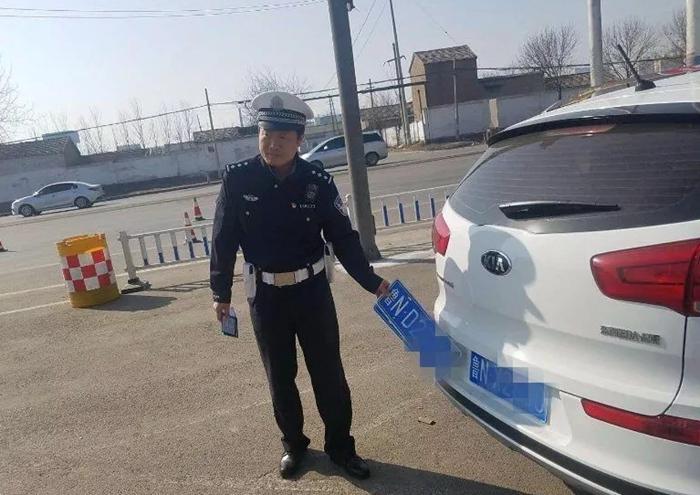 聪明反被聪明误!临清一司机涉嫌使用套牌被扣12分罚款两千