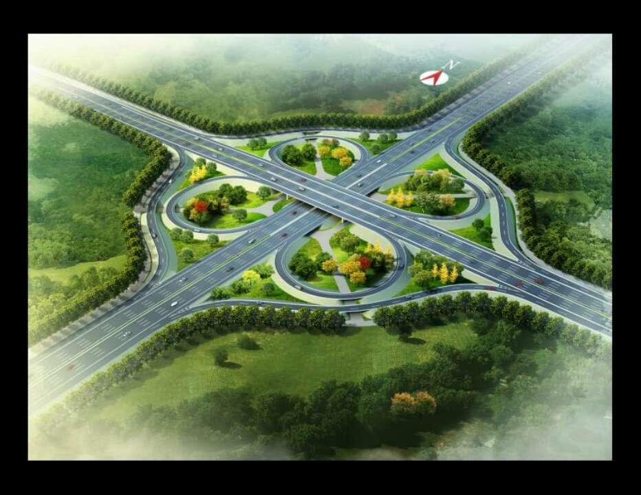 淄博高新区首座互通立交桥计划于3月中旬全面展开施工作业