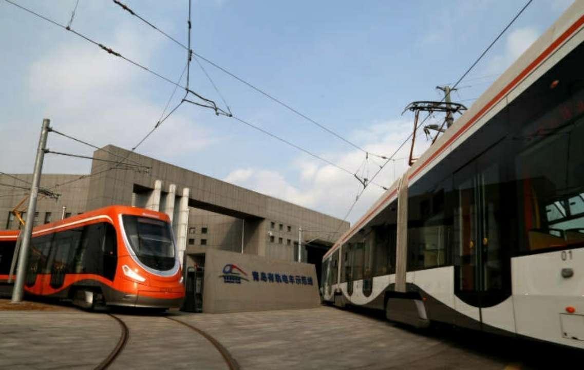青岛有轨电车开通两年载客152万 今年计划启动延伸工程