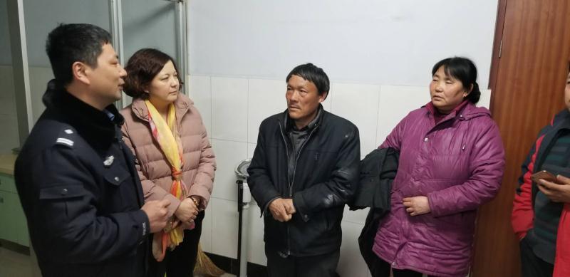 蒙阴老人走失十多天急煞家人  爱心接力助老人找到家人