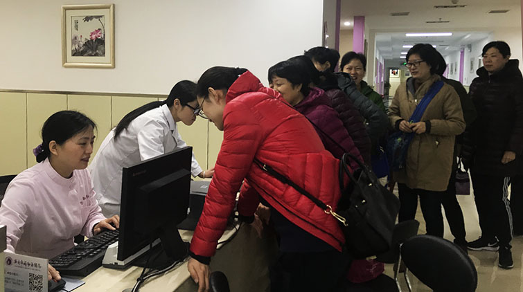 关爱一线妇女员工!济南妇幼保健院为50余名女干警免费体检