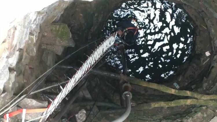 14秒丨老人不慎滑落20米深井 淄博消防紧急救援