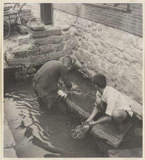 1942年老照片告诉一个你不知道的老济南 古城墙上辟环城马路