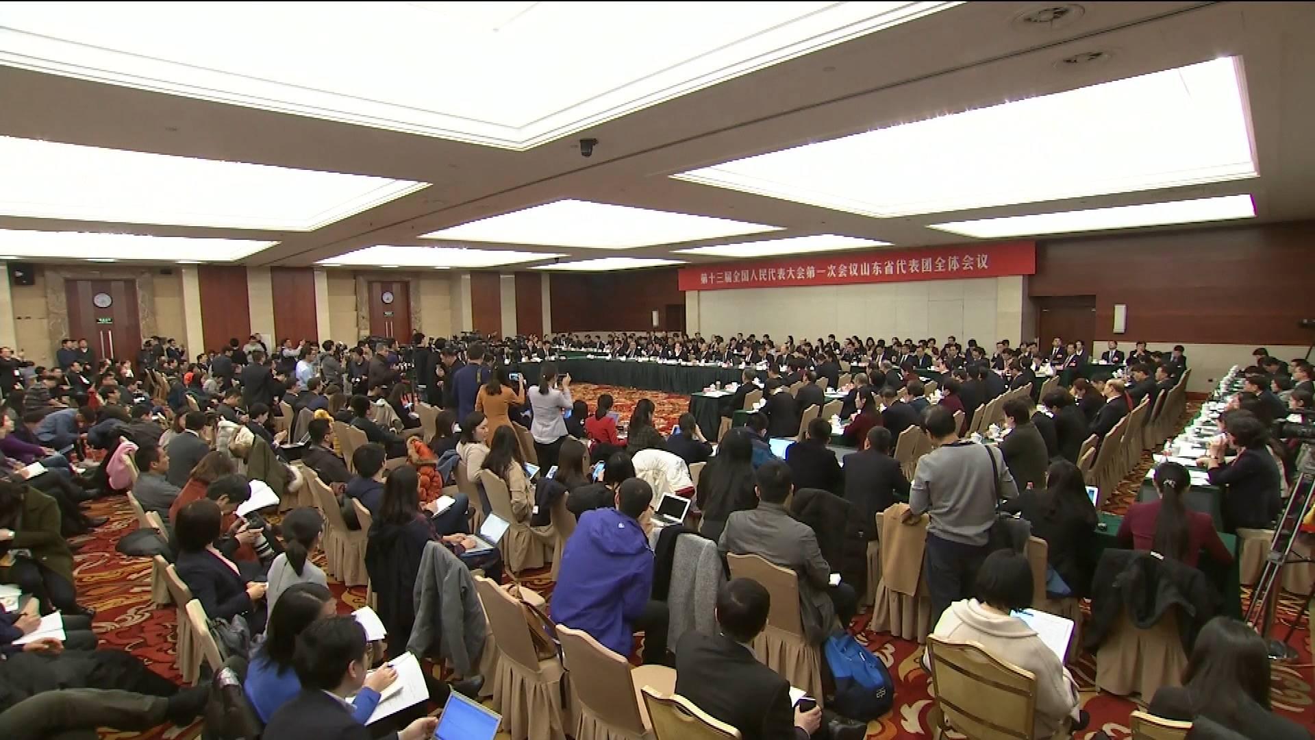 山东团开放日在代表中引起强烈反响:时不我待竞发展 改革开放再出发