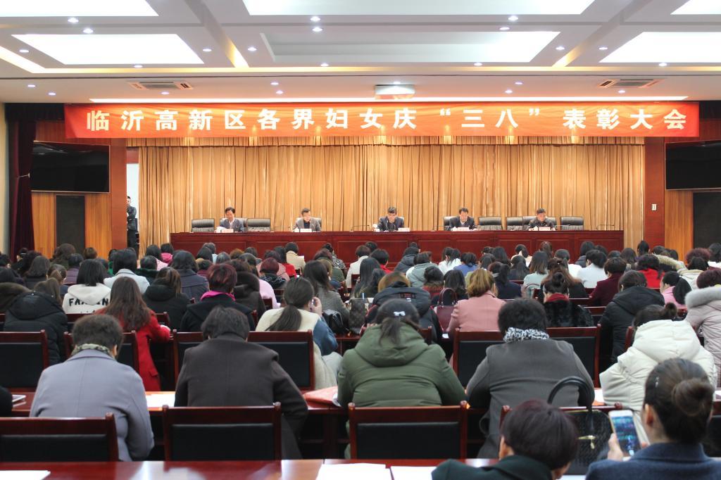 """临沂高新区各界妇女庆""""三八""""表彰大会召开"""