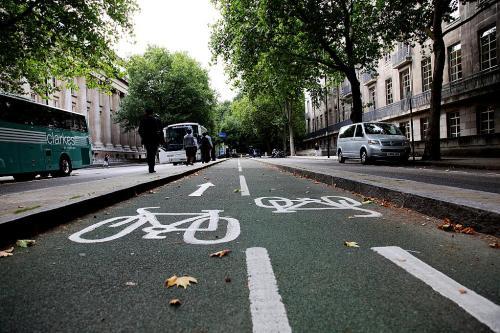 烟台芝罘区南大街、海港路将建自行车专用道