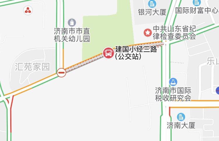注意绕行!济南建国小经三路段今起开始施工
