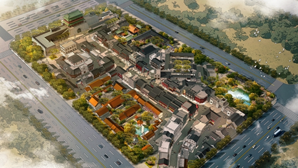 最新进展!济南华谊兄弟老济南街6月底基本完成主体结构