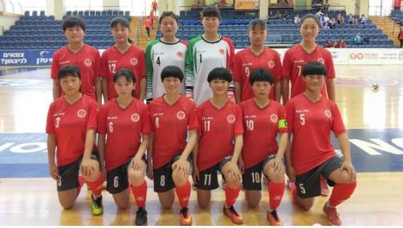 喜讯!郯城一中女足代表中国出征以色列 首战7:0大胜