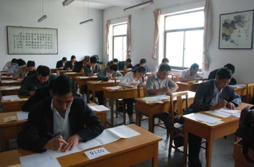 2018年上半年中小学教资考试17日进行 济宁共设14处考点