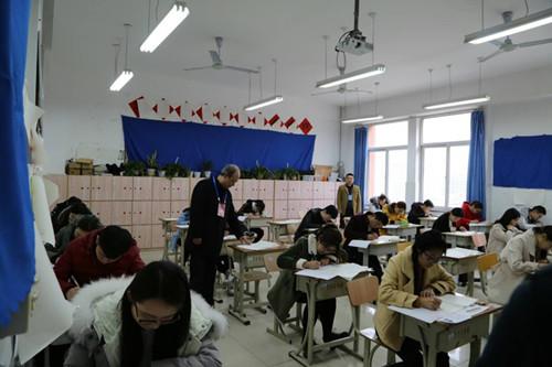 山东人爱当老师?35万人今日参加中小学教师资格考试
