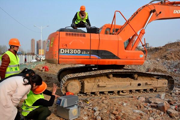 菏泽市开展非道路移动机械使用及污染排放检测登记