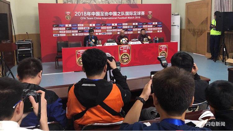 中国U23国足1:1叙利亚U23 刘洋姚均晟如何评价自己发挥?