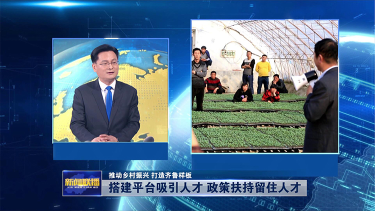 【乡村振兴专家谈】丁兆庆:搭建平台吸引人才 政策扶持留住人才