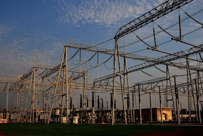 1000千伏特高压(山亭)变电站工程建设进展顺利