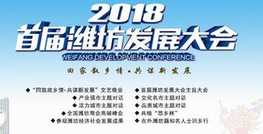 首届潍坊发展大会4月1日-3日举行 确定11项具体活动
