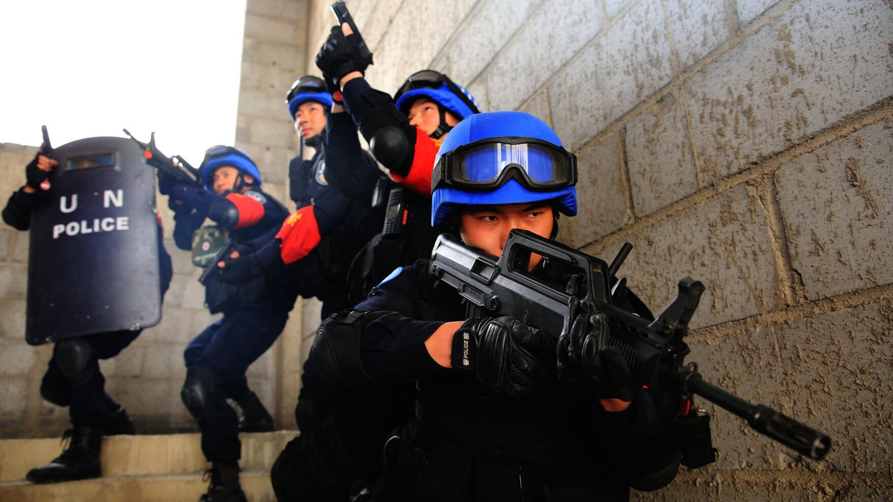 常备维和警队:每场训练下来,都像打了一场硬仗