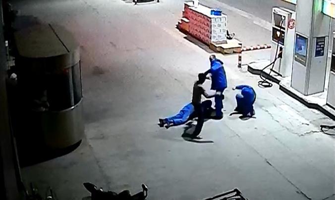网贷无力偿想歪招 临沂一男子深夜蒙面抢劫加油站