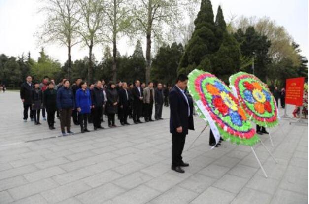 临沂市科协赴华东烈士陵园开展革命传统教育活动