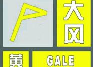 滨州发布大风黄色预警,体重轻的最好不要出门了