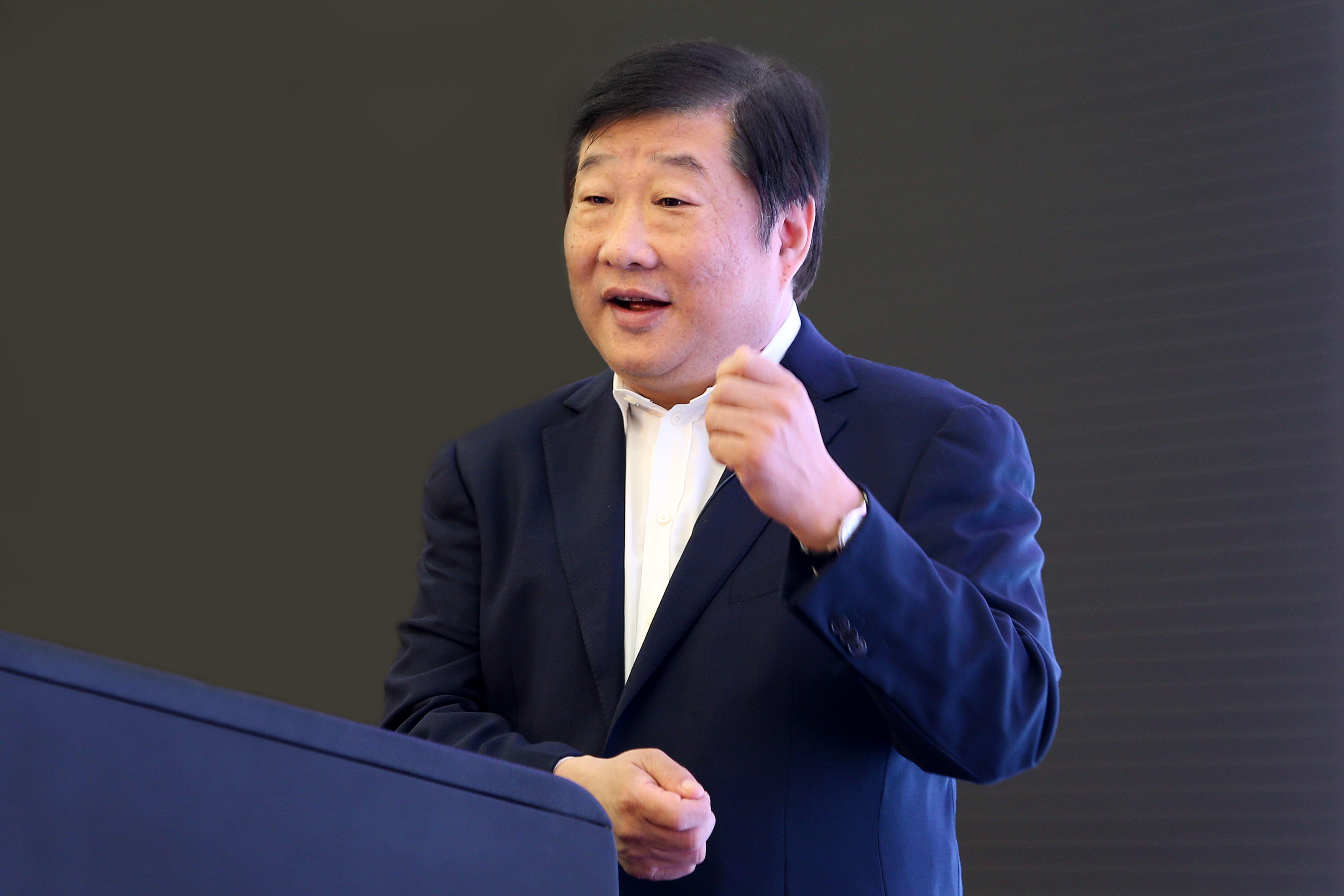 谭旭光谈企业家精神:敢于担当、关键时刻挺身而出