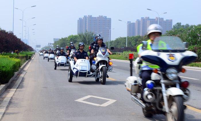 清明假期淄博交警查纠交通违法行为1231起