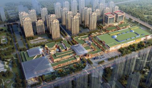 聊城推进旅游重点项目建设 万达欢乐小镇预计2019年10月开业